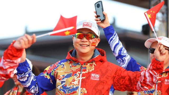 戈十六参赛选手走上点将台红毯    摄影/任玉明