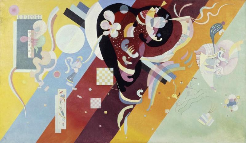 瓦西里·康定斯基,《作曲IX》,1936年,布面油画
