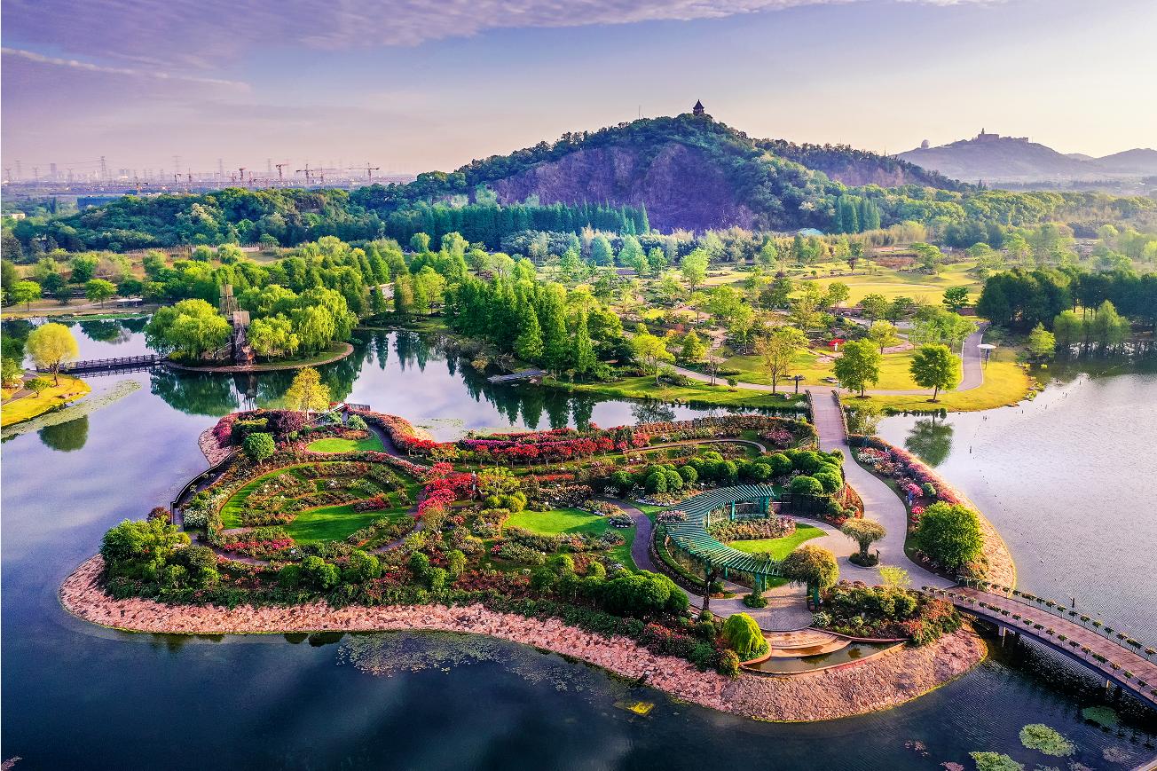 上海辰山植物园资料图
