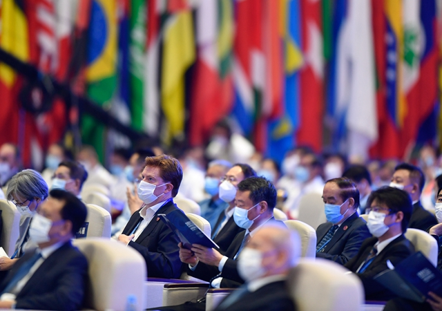 9月26日,2021年世界互联网大会乌镇峰会在浙江乌镇开幕。