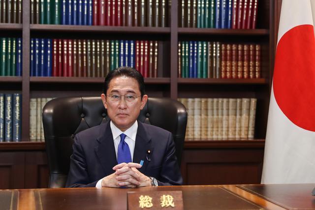 日本新首相岸田文雄(来源:新华社)
